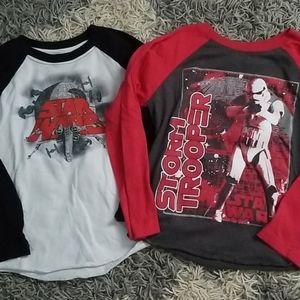 Star Wars Long sleeve shirts